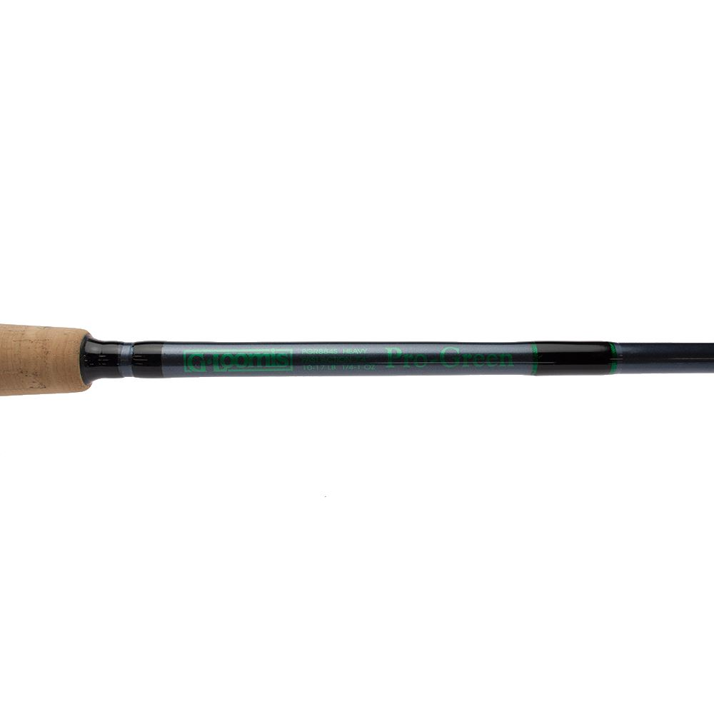 Bass store italy g loomis pro green spinning for Green fishing rod