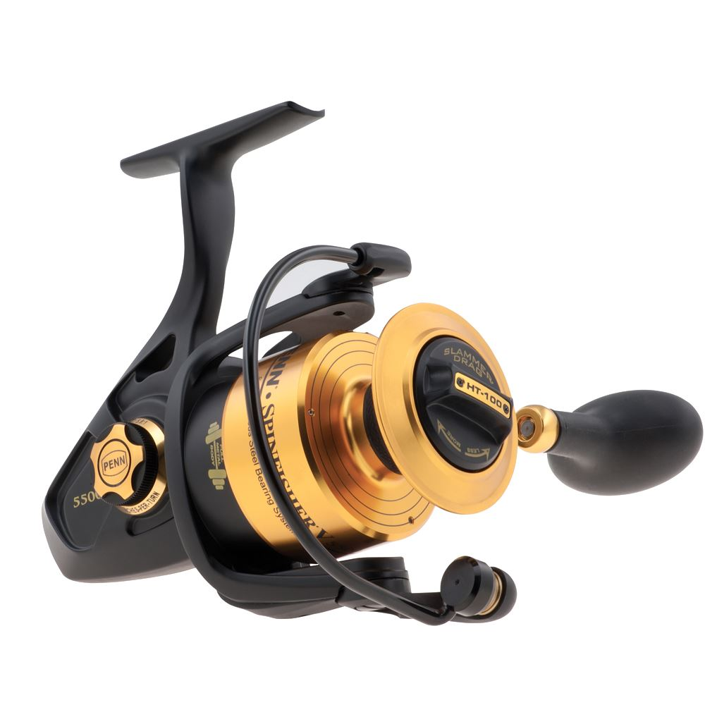 Bass store italy penn spinfisher v spinning reel for Bass pro fishing reels