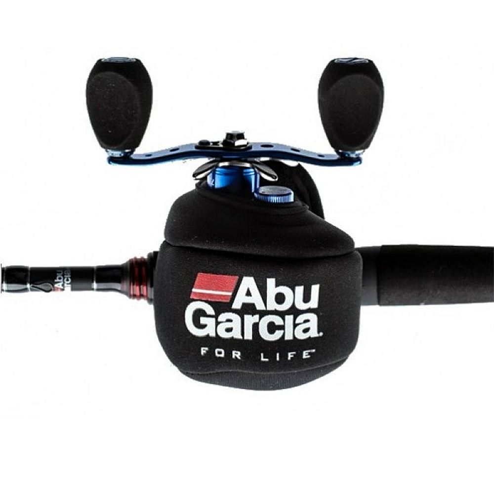 Bass store italy abu garcia neoprene reel cover for Fishing reel covers