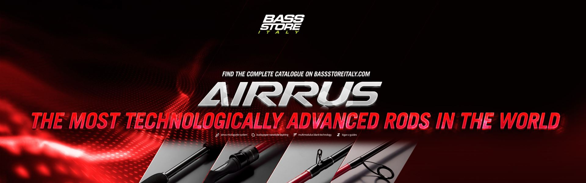 Airrus, spinning, casting, casting rods, spinning rods, lurefishing, saltwater fishing, spigola, canne da spigola, canne da bass, bass fishing, trout fishing, area game