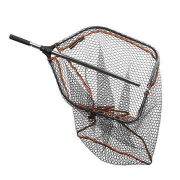 Immagine di Savage Gear Pro Folding Tele Rubber Mesh Landing Net