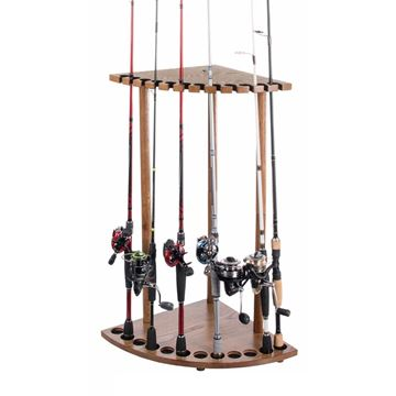 Immagine di Bass Pro Shops Corner Rod Rack