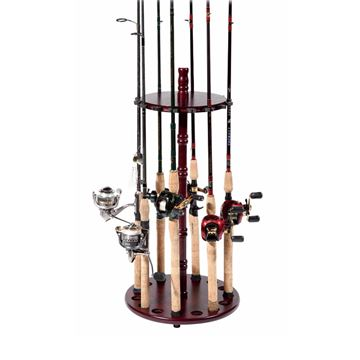 Immagine di Bass Pro Shops Round Floor Rod Rack
