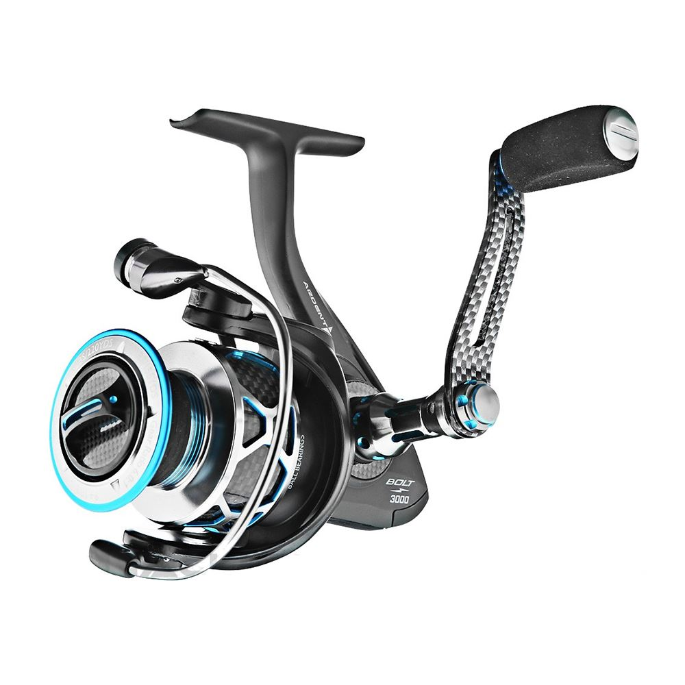 Bass store italy ardent bolt spinning reel for Ardent fishing reels