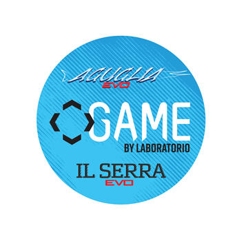 Immagine di Game by Laboratorio Round Sticker