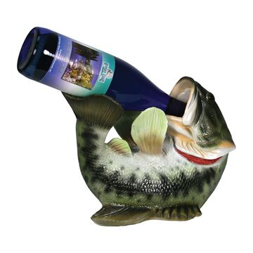 Immagine di Rivers Edge Bass Wine Bottle Holder