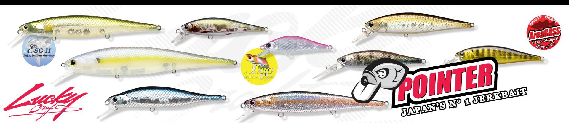 pointer, jerk, jerkbait, minnow, trota, apertura 2019, pesca in torrente, pesca in mare, saltwater, freshwater, trout