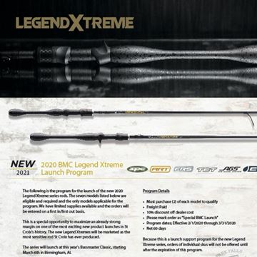 Immagine di St. Croix New Legend Xtreme Casting Rods