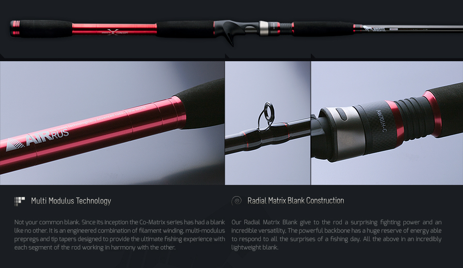 Bass store italy airrus wrestle casting for Heavy duty fishing rods