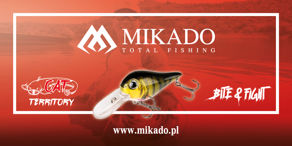 mikado donkey crank for catfish wels and pike fishing