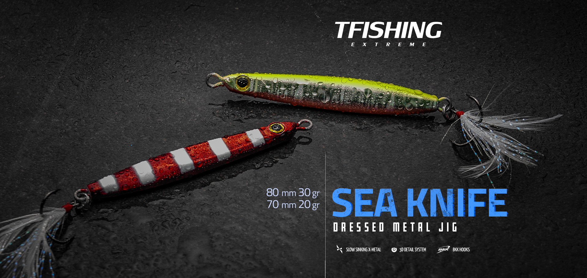 Metal Jig T-fishing Sea Knife
