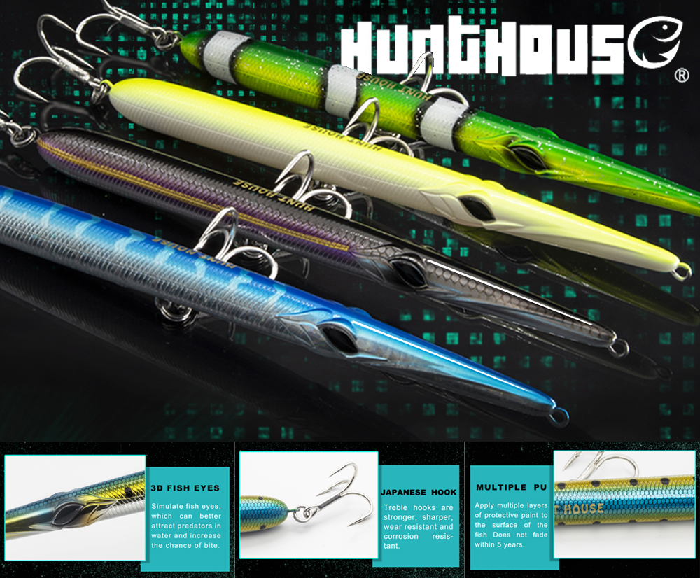 Hunthouse Javelin Needle Lure stylo